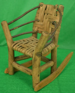 Adirondack Bench, 2 Armchairs & Table