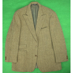 J Press (Tige) Peak Lapel HB Sport Jacket Sz: 46 Tall