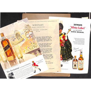 Collectible Scotch Whiskey Ad Prints