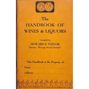 The Handbook of Wines and Liquors