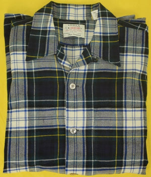 Viyella by Arrow Dress Campbell Tartan Plaid Spt Shirt Sz: Lg