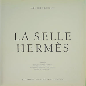 La Selle Hermes Deluxe Leather Ltd Edition