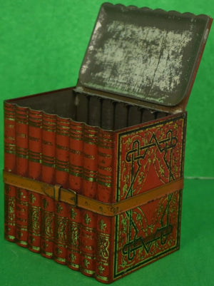 English 8 Volume Book Tin Caddy
