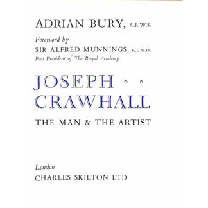 Joseph Crawhall The Man & The Artist