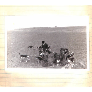 Raymond Guest M.F.H. Foxhunting Photo Album: Rock Hill Hounds, Virginia Two Good Days in December 1939