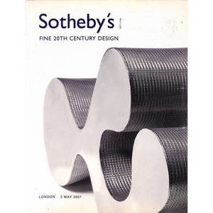 Sotheby's Fine 20th Century Design May 2, 2007