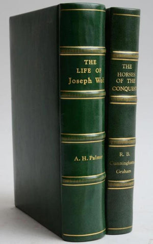 The Life of Joseph Wolf by A.H. Palmer & The Horses of Conquest by R.B. Cunninghame