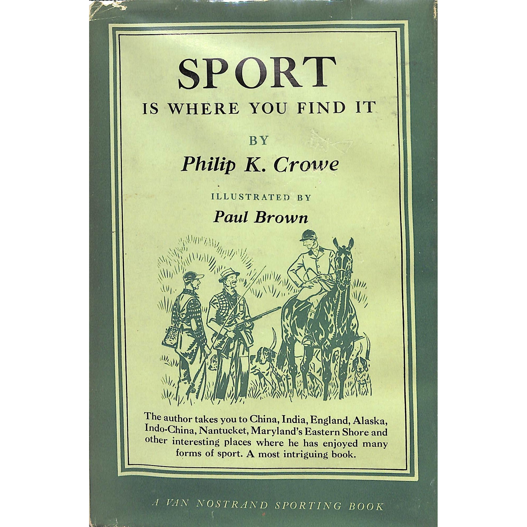 Sport Is Where You Find It' by...