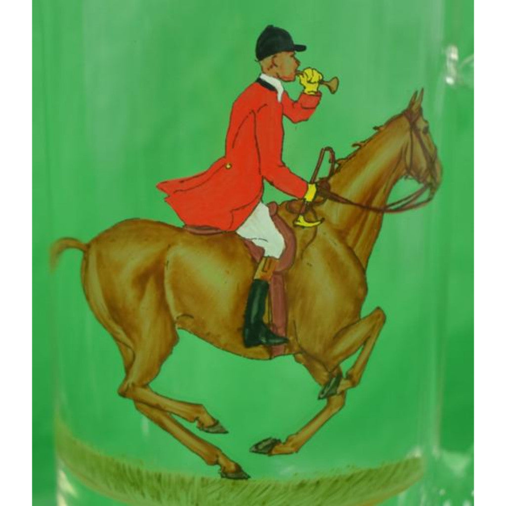 'Frank Vosmansky Hand-Painted Fox-Hunter Pitcher'