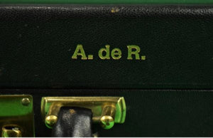 Sotheby's Paris 2005 'T. Anthony Attache Case w/ The Baron Alexis de Rede (A. de R.)'