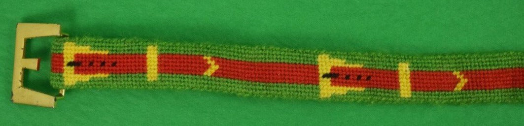 Faux Gucci Needlepoint Belt