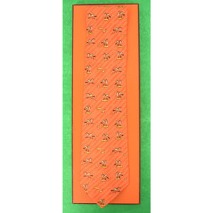 Hermes of Paris Pegasus Tie