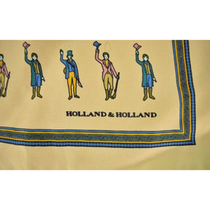 'Holland & Holland Huntsman Silk Pocket Sq'