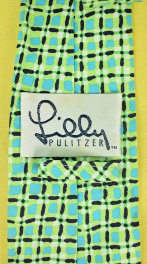 Lilly Pulitzer Block Print Tie