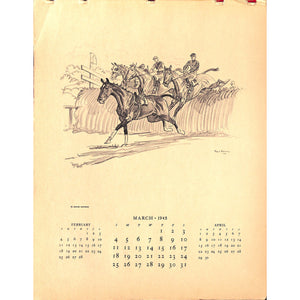 Paul Brown Brooks Brothers Calendar 1945