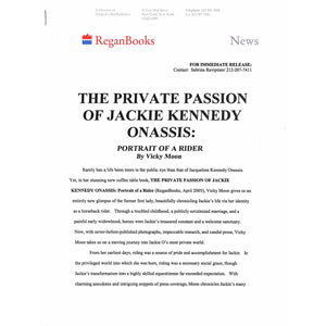 The Private Passion of Jackie Kennedy Onassis