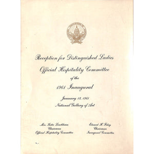 Reception for Distinguished Ladies
