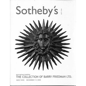 Sotheby's: The Collection of Barry Friedman Ltd.