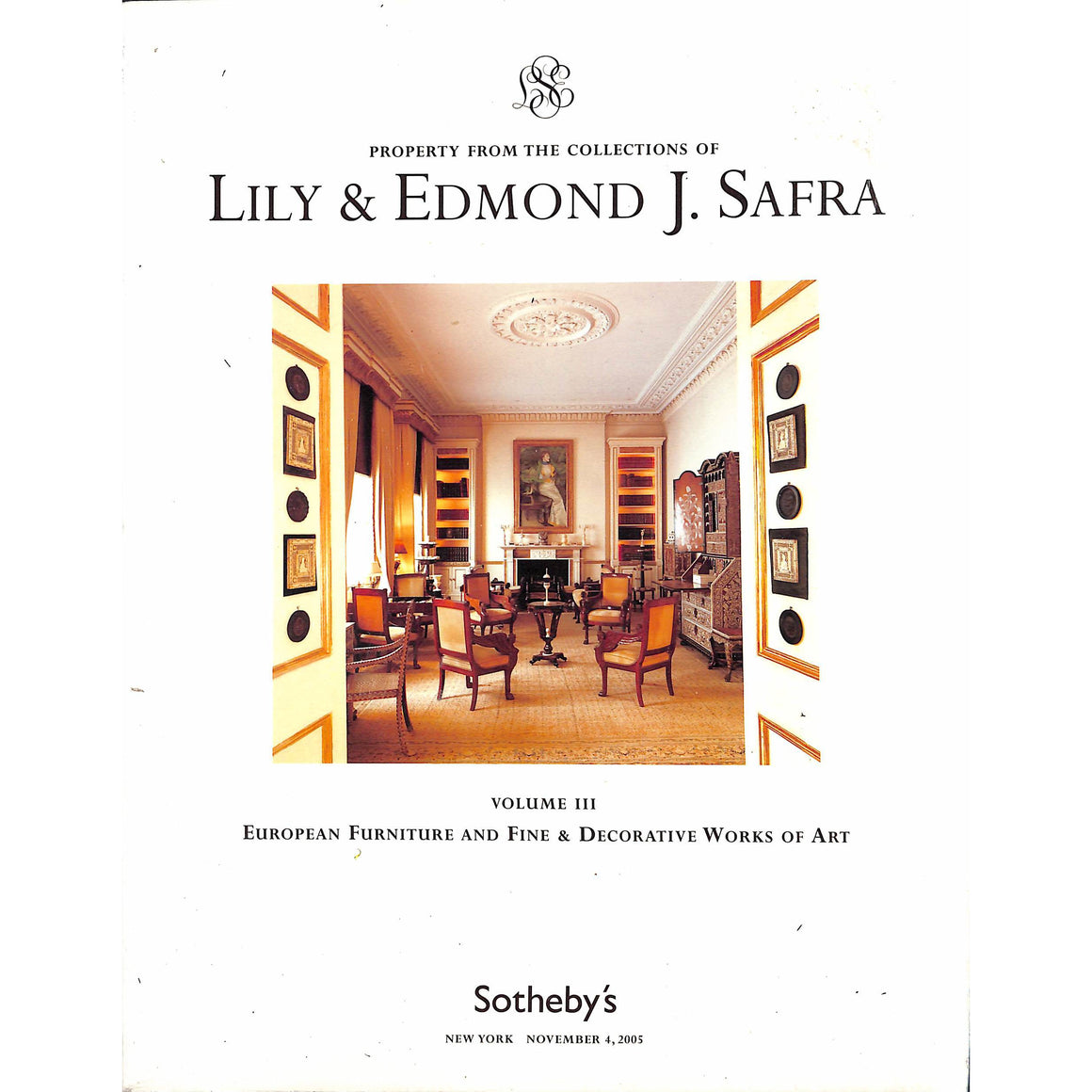 Property From the Collections of Lily & Edmond J. Safra Volume III