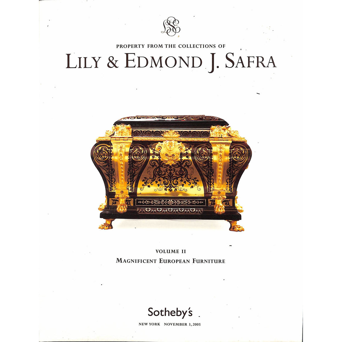 Property From the Collections of Lily & Edmond J. Safra Volume II