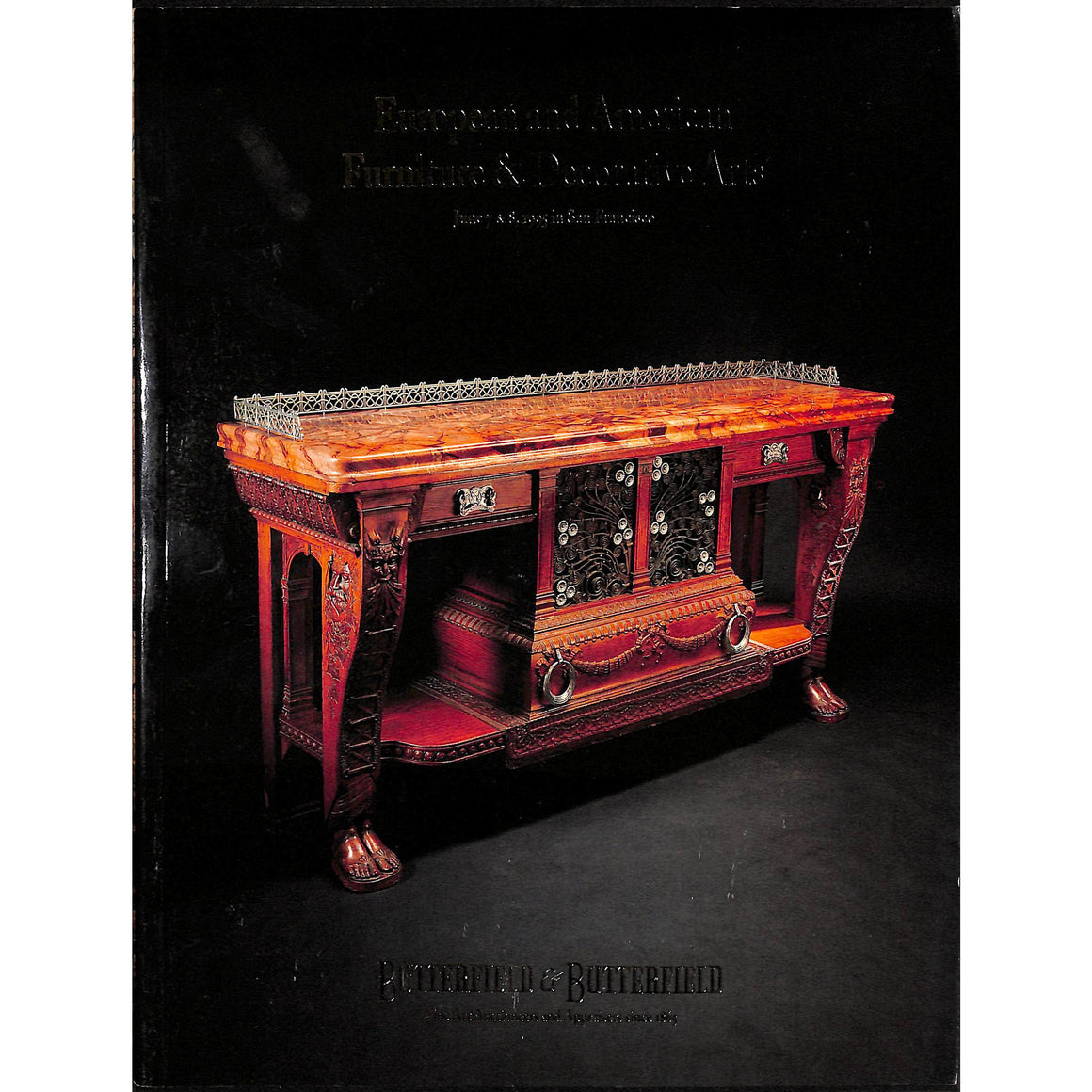 European and American Furniture & Decorative Arts