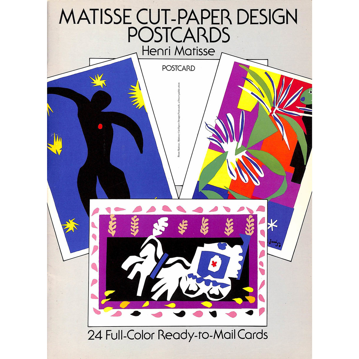 Matisse Cut-Paper Design Post Cards