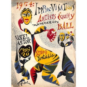 Improvisations 1954 Spring Fantasia Masquerade Ball