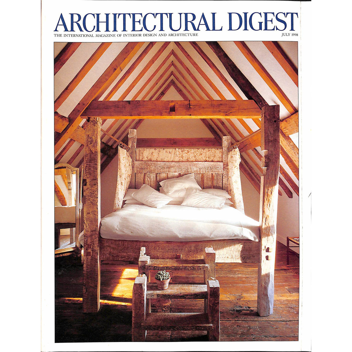 Architectural Digest July 1998