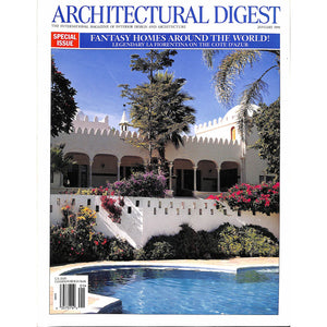 Architectural Digest Fantasy Homes Around The World! January 1999