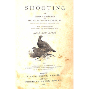 The Badminton Library: Shooting