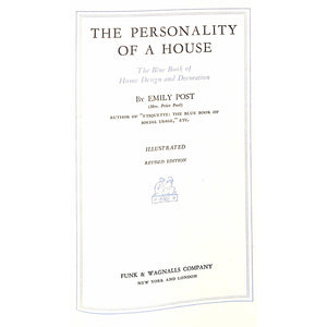 The Personality Of A House