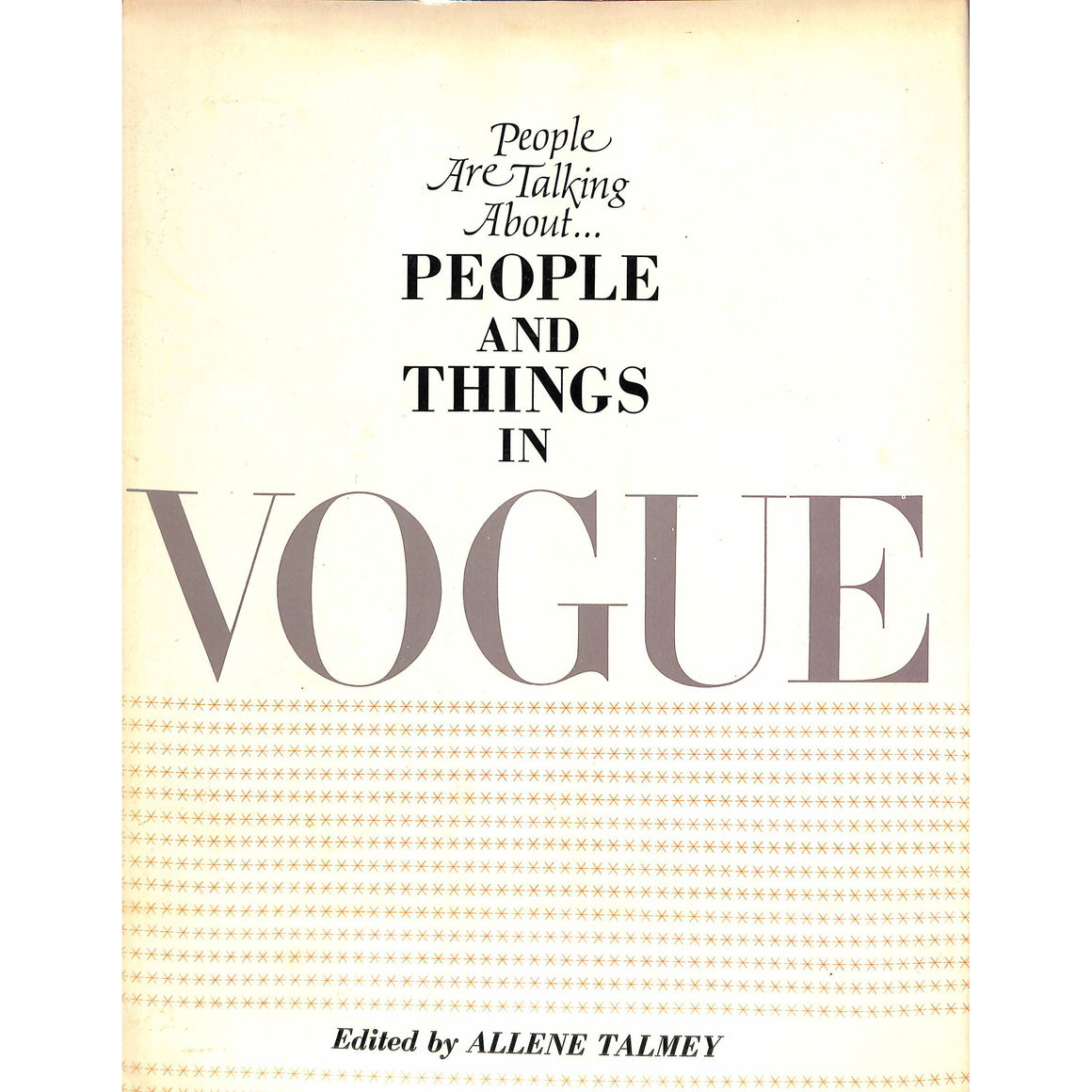 People And Things In Vogue