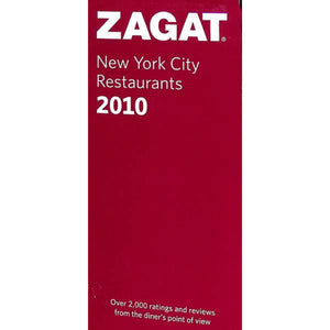 'Zagat New York City Restaurants' 2010