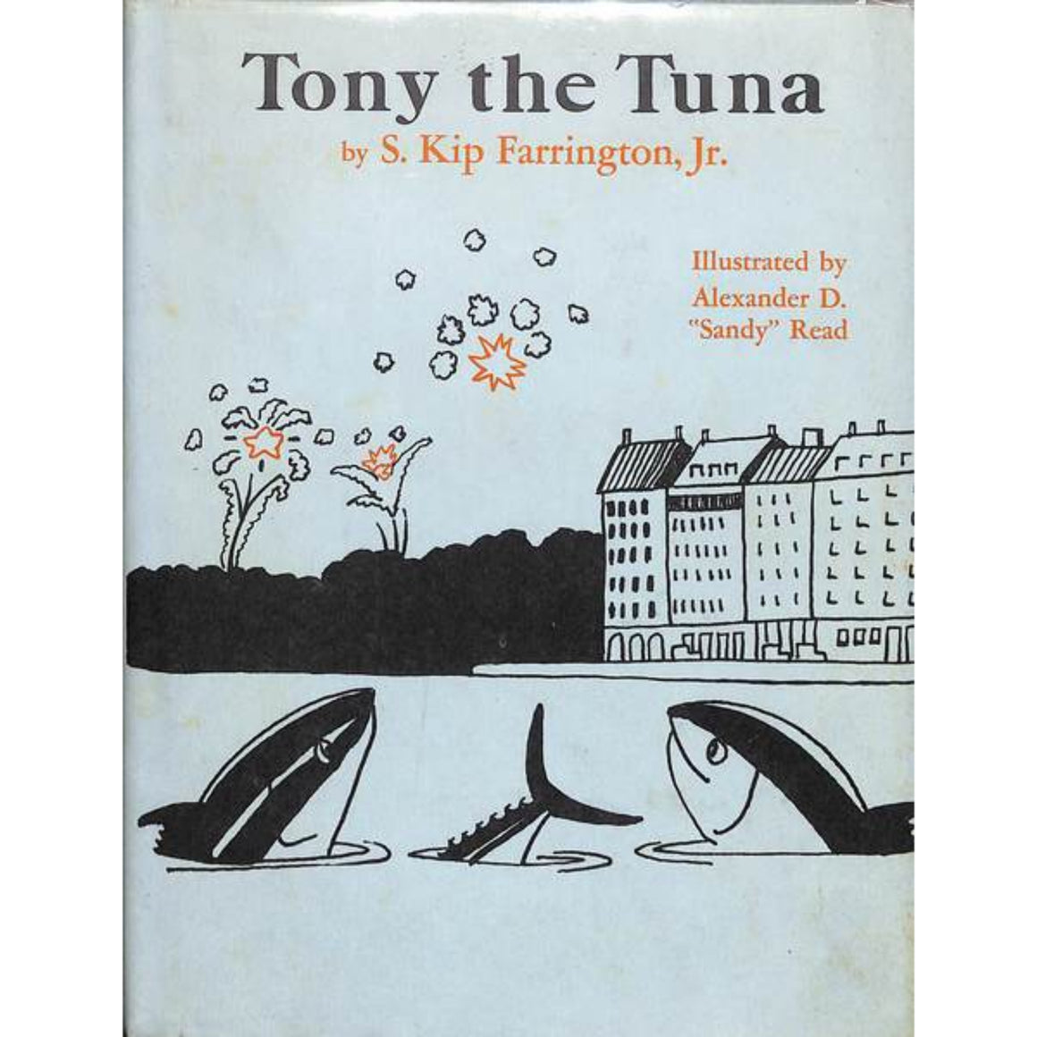 'Tony, the Tuna' 1975 by S. Kip Farrington, Jr. (Inscribed!)