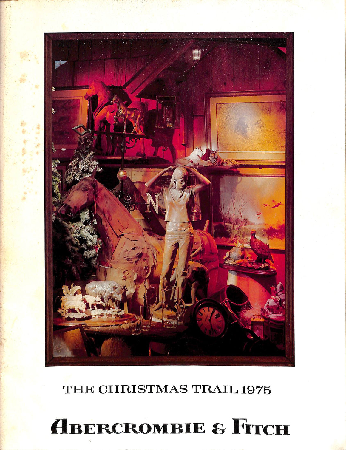 """Abercrombie & Fitch The Christmas Trail 1975"""
