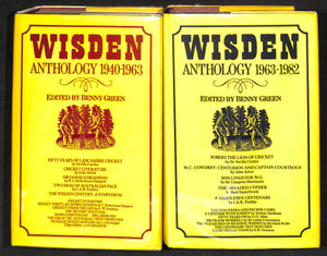 'Wisden Anthology: 2 Vol. 1940-1963 & 1963-1982'