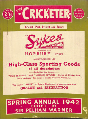 'The Cricketer Spring Annual 1942'