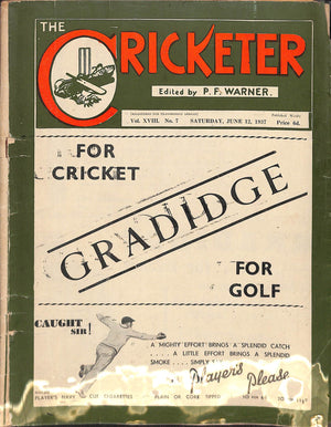 'The Cricketer - June 12, 1937'