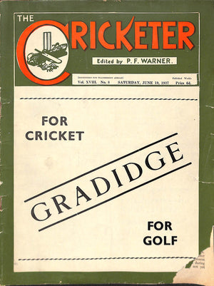 'The Cricketer - June 19, 1937'