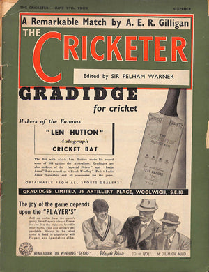 'The Cricketer - June 17th, 1939'