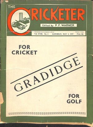 'The Cricketer - May 8, 1937'