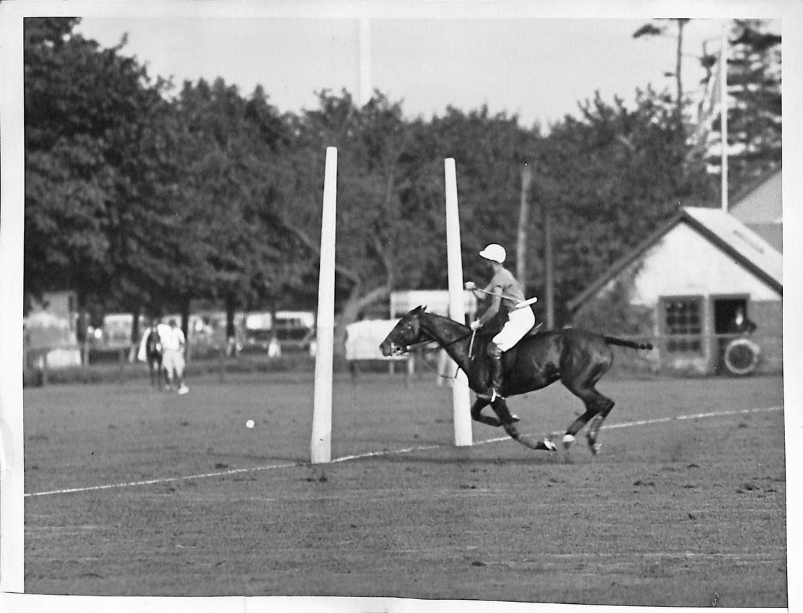 'Greentree Wins Polo Championship at Westbury, L.I.' 1935 B&W Photo