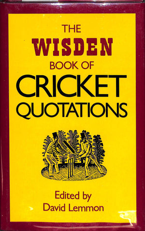 The Wisden Book of Cricket Quotations