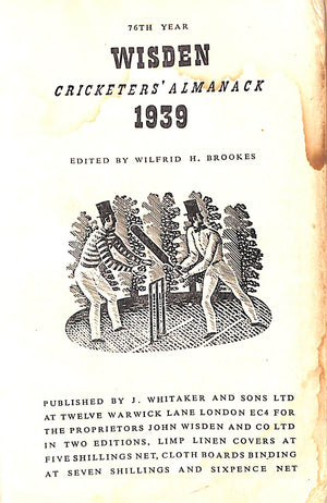 Wisden Cricketers' Almanack 76th Edition