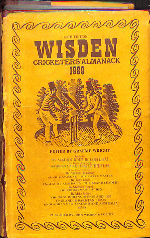 Wisden Cricketers' Almanack 126th Edition