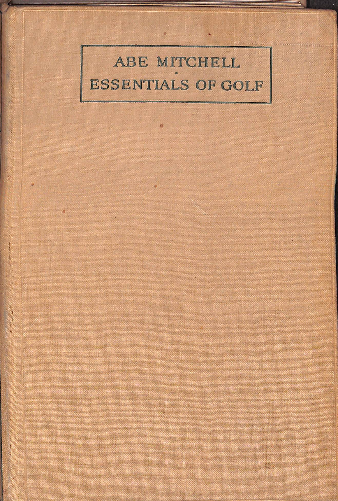 """Essentials of Golf"" (SOLD)"