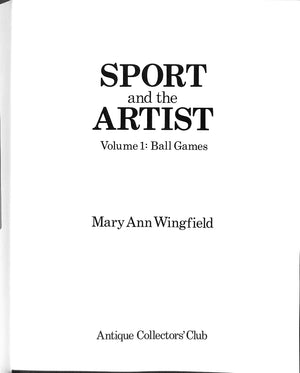 Sport and the Artist Volume 1: Ball Games