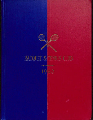 """Racquet & Tennis Club"" 1923"