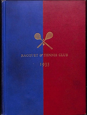 Racquet & Tennis Club 1933
