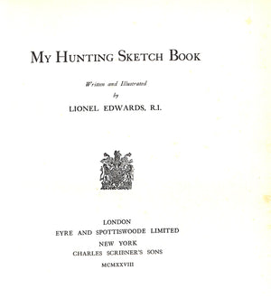 My Hunting Sketchbook Vol. 1 & II